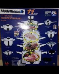 Sistem profesional de gătit la aburi cu 11 straturi